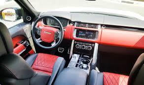 land rover autobiography red interior range rover autobiography sv u2013 formula motors llc dubai