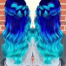 show me hair colors 25 best ideas about bright blue hair on pinterest bright hair