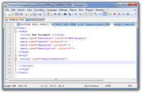 create custom file templates for programming in notepad plugin