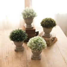 Topiary Plants Online - artificial potted topiary plants with urn set of 4 antique