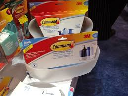 3m touts new command hooks shower caddies hbs dealer