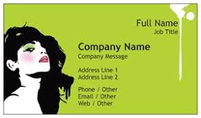 Vistaprint 9 99 Business Cards Makeup Artist Business Cards Vistaprint