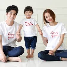 2017 summer family clothing family cotton set baby clothes