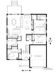 Large Kitchen House Plans Small House 111ch 1f 120815 House Plan Jpg Home Love Pinterest