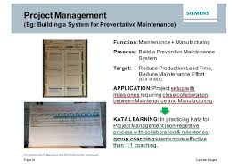 kata lessons learned at siemens