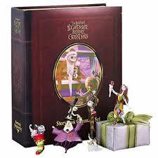 A Christmas Story Ornament Set - nightmare before christmas story book ornament set ebay
