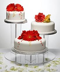 3 Tier Wedding Cake 3 Tier Wedding Cake Stand Amazon Co Uk Kitchen U0026 Home