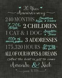 best 1 year anniversary gifts the 25 best 20 year anniversary gifts ideas on