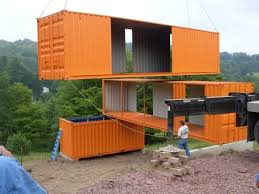 100 sea container rooms inside the shipping container room