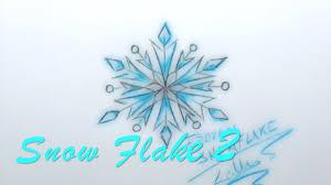 easy to draw popular disney frozen snow flake two lana3lw youtube