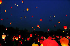 chineses lantern 20pcs lot diy paper lanterns chineses sky l wishing for