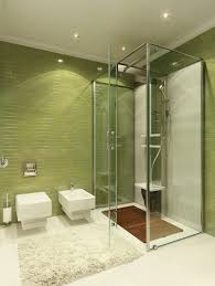 green bathroom tile ideas fascinating green bathroom tile idea with small space shower area
