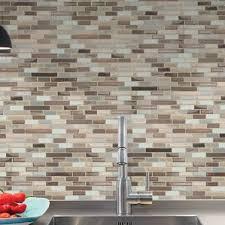 peel and stick backsplash for kitchen peel and stick backsplash tile you ll