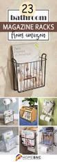 best 25 farmhouse magazine racks ideas on pinterest toilet room