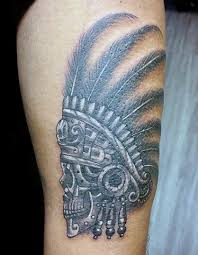 aztec warrior tattoo tattoo collections