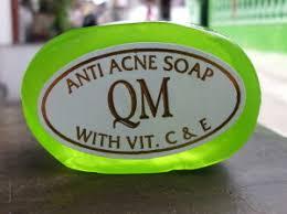Sabun Qm qm anti acne soap with vit c e sabun toko almishbah