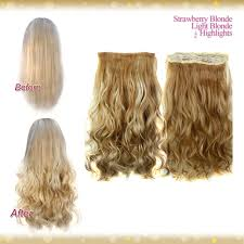 clip in hair extensions uk wiwigs half 1 clip in curly strawberry light