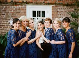 navy blue lace bridesmaid dress navy blue bridesmaid dress options photos huffpost