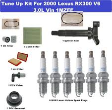 lexus rx300 auto parts tune up kit for 2000 lexus rx300 spark plug air cabin oil filter
