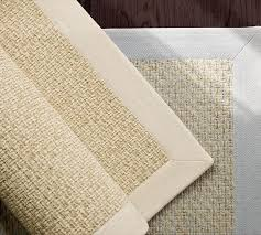 Jute And Chenille Area Rug Chenille Jute Basketweave Rug Pottery Barn