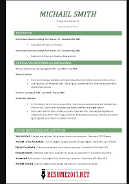 chronological resume template chronological resume format 2017