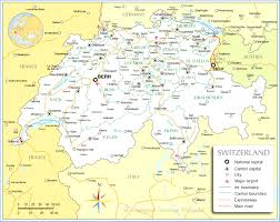 map of germany and surrounding countries with cities political map of nations project lovely germany and