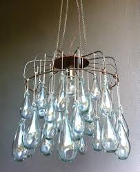 katharine capsella blown glass chandelier glass material living room heart shape led