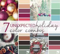 Winter Color Schemes by Aly Dosdall 7th Day Of Christmas Unexpected Holiday Color Schemes