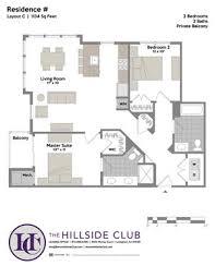 Hillside Floor Plans The Hillside Club Apartments 1000 Murray Court Livingston Nj