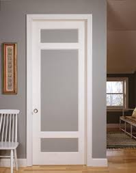 Interior Doors With Glass Panel Paint Grade Mdf Interior Doors Trustile Custom Doors By Doors