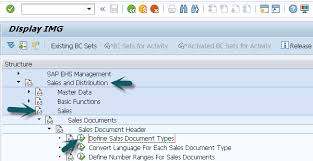 sap document types table sap sd defining a sales document