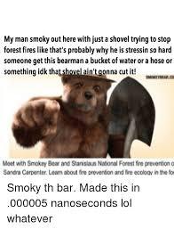 Smokey The Bear Meme - 25 best memes about smokey bear smokey bear memes
