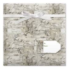 birch tree wrapping paper birch jumbo rolled gift wrap current catalog