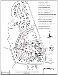 Michigan Campus Map by Campus Map Pleasant View Retirement Community Projects To Try
