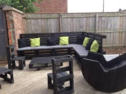 Patio Made Out Of Pallets by Garden Furniture Made From Pallets Pallet Idea