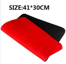 41 30cm red high quality card deck mat close up magic tricks pad