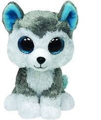 amazon ty beanie boos leona blue leopard regular plush toys