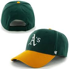 Home Team by 47 Brand Oakland Athletics Toddler Green Gold Home Team Logo