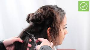 5 ways to cut hair wikihow