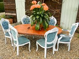 Shabby Chic Dining Room by Shabby Chic Oak Extending Dining Table Living Room Ideas