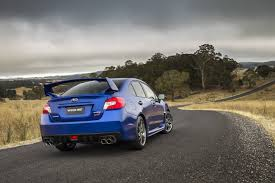 subaru roof spoiler subaru cars news 2015 wrx sti pricing and specification