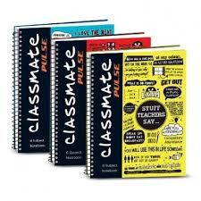 classmate product classmate pulse 1 sub spiral notebook unruled price in india
