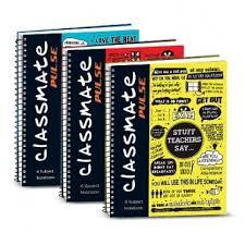 classmate books classmate pulse 1 sub spiral notebook unruled price in india
