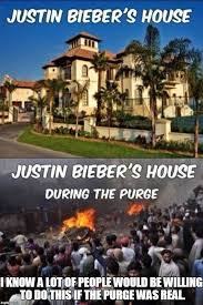 Purge Meme - justin bieber s house before after imgflip