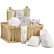 bath gift set fingerhut prevari vanilla cinnamon musk 13 pc bath gift set