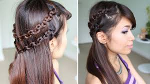 how to snake braid headband hairstyle for medium long hair