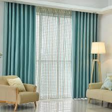aliexpress com buy plain dyed blackout curtain kitchen door