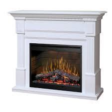 Fireplace Mantels Electric Dimplex Essex 55 Inch Electric Fireplace Mantel Inner Glow Logs