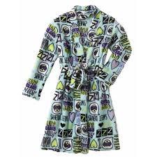 emoji robe girls blue sweet dreams bathrobe i love naps bath robe emoji house