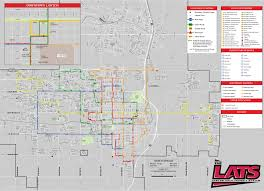 Mall Of Louisiana Map by Route Maps Lawton Area Transit System